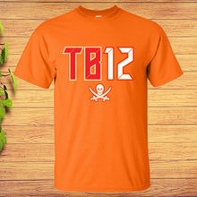 Load image into Gallery viewer, Tb12 T-shirt Tampa Bay Bucs Buccanneers Tom Brady Tombrero Goat Election Gift