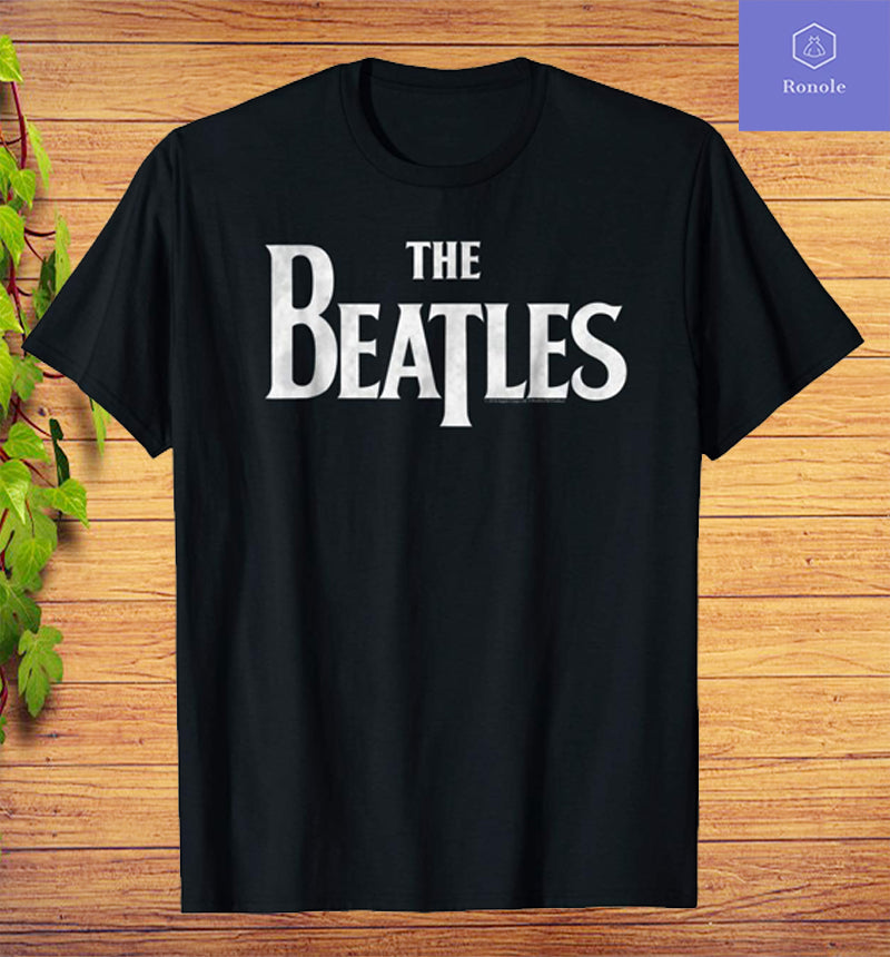 The Beatles Logo T-Shirt All Sizes