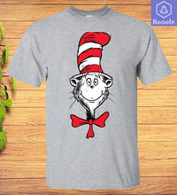 Load image into Gallery viewer, The Cat in the Hat Face T-shirt