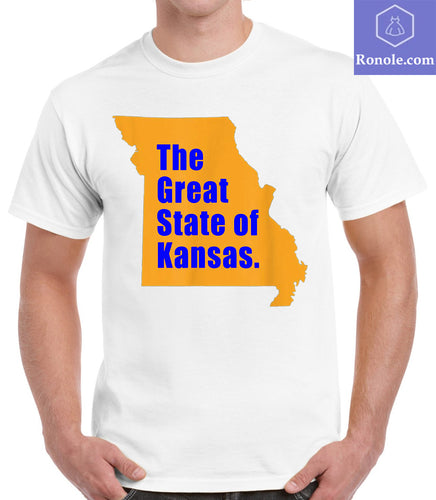 The Great State of Kansas- Kansas City MO Funny Trump Tweeter T-Shirts