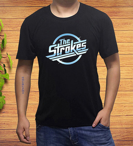 The Strokes Logo Official Band T-Shirt