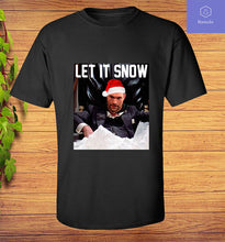 Load image into Gallery viewer, Tyson Fury T-Shirt - Let It Snow - Adults & Kids All Sizes