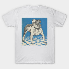 Load image into Gallery viewer, Vintage American Bulldog Illustration (1912) T-Shirt
