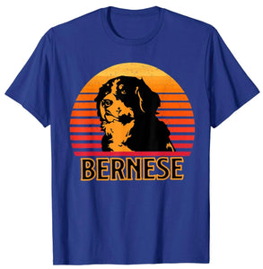 Vintage Bernese Mountain Dog Retro Gift T-Shirt