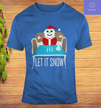 Load image into Gallery viewer, Walmart Let It Snow Sweater Santa Clause T-Shirt