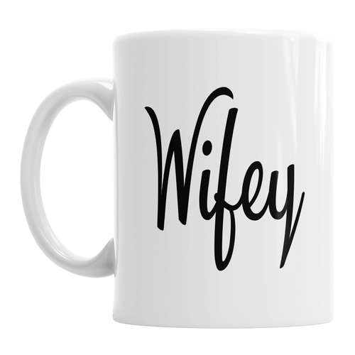 Wifey Wedding Valentine's Day Anniversary Mug