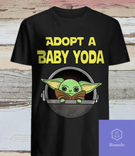 Load image into Gallery viewer, Adopt A Baby Yoda T-Shirt