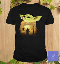 Load image into Gallery viewer, baby Yoda shirt