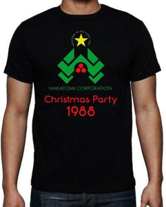 Christmas Party Nakatomi Plaza 80's Action Movie Funny T-Shirt