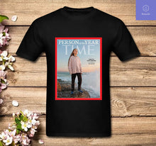 Load image into Gallery viewer, Greta Thunberg Person of the Year 2019 T Shirt