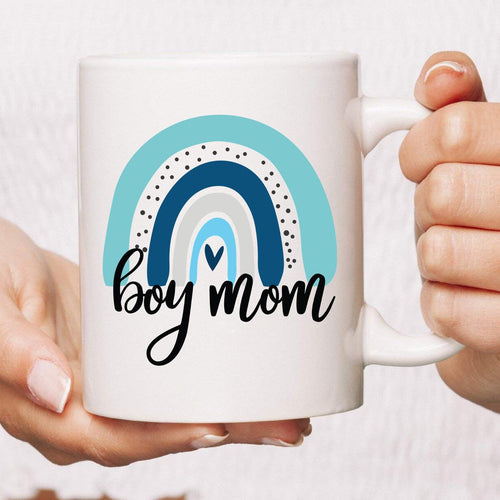 Boy-Mom For Mom of Boys Coffee Mug