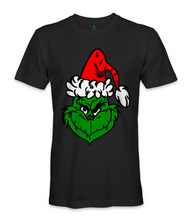 Load image into Gallery viewer, Seuss The Grinch merry Christmas t-shirt