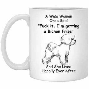 Funny Bichon Frise Dog Mom Coffee Mug