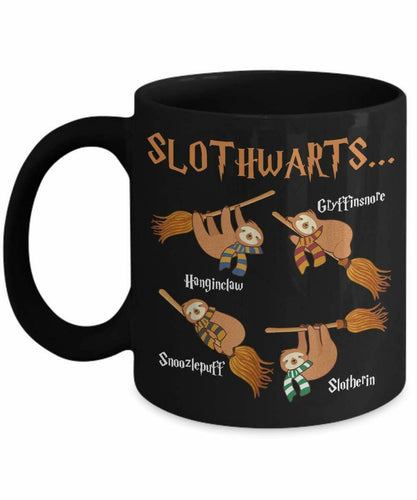 Slothwarts Potter Coffee Mug