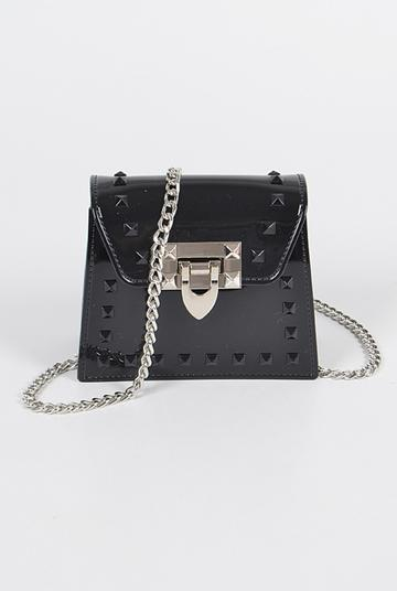 Black Mini Jelly Cross Body