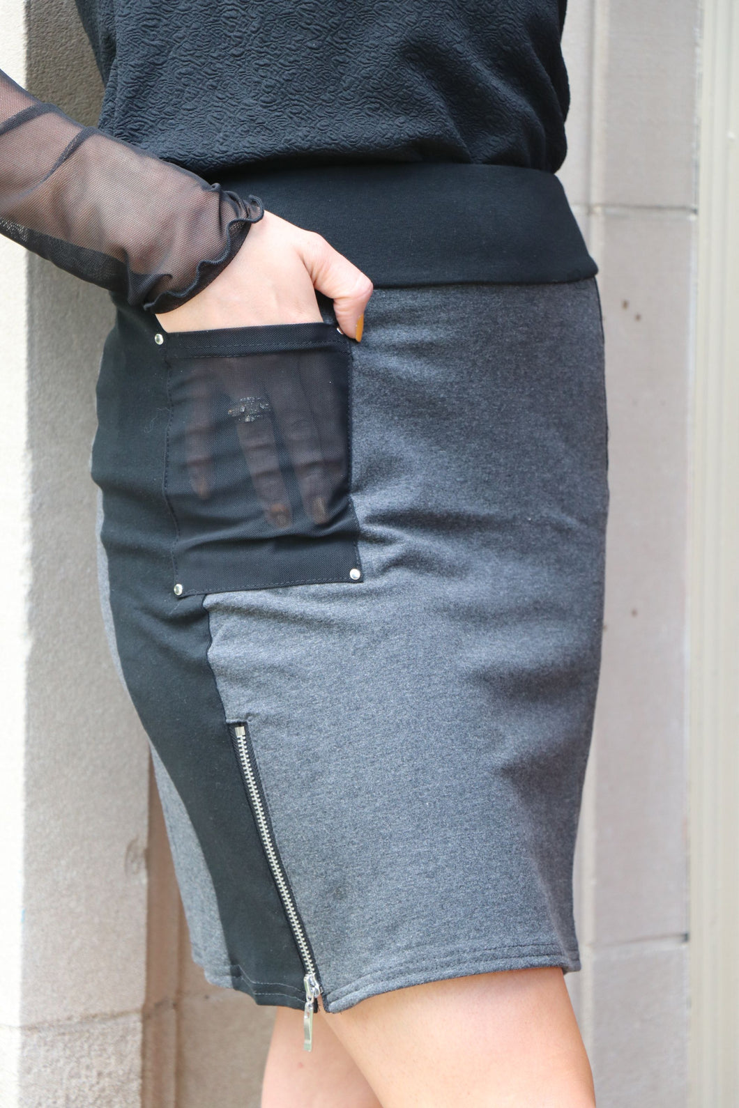 Zipper Skirt