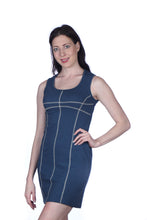 Load image into Gallery viewer, Rib Knit Linear Dress
