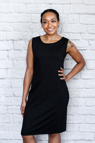Black Hepburn Dress