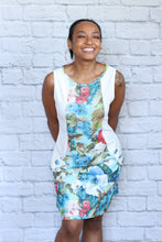 Load image into Gallery viewer, Vintage Floral Button Dress