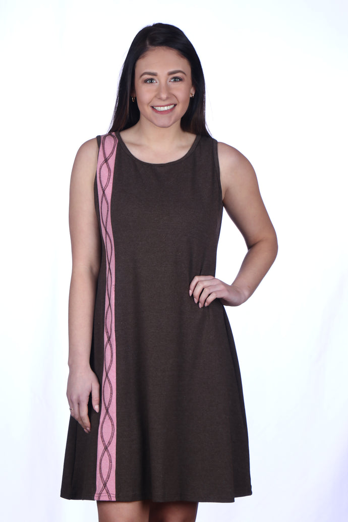 DNA Stripe Dress