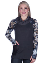 Load image into Gallery viewer, Print Sleeved Tunic No Hood