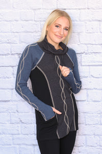 DNA Funnel Neck Tunic