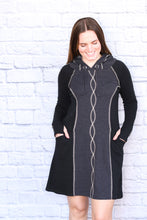 Load image into Gallery viewer, Classic DNA Hoodie Dress
