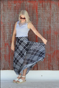 Lightest Mesh Maxi Skirt - FREE HEM AVAILABLE
