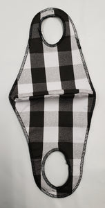 Fabric Ear Loops - M - Gingham