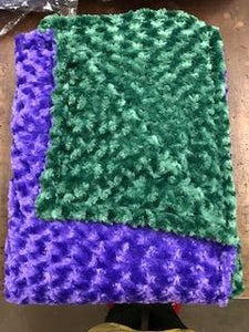 Faux Fur Blanket, Different Colors Each Side 60x80 inches