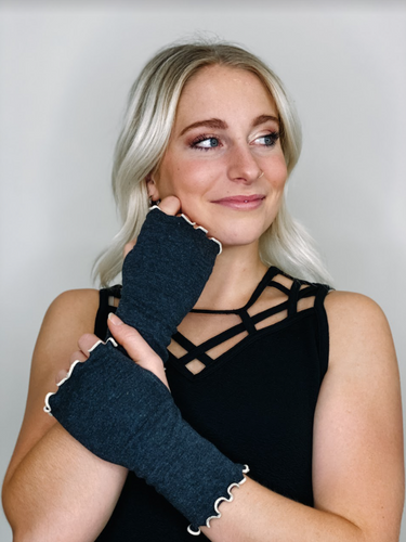 Flirty Fingerless Gloves