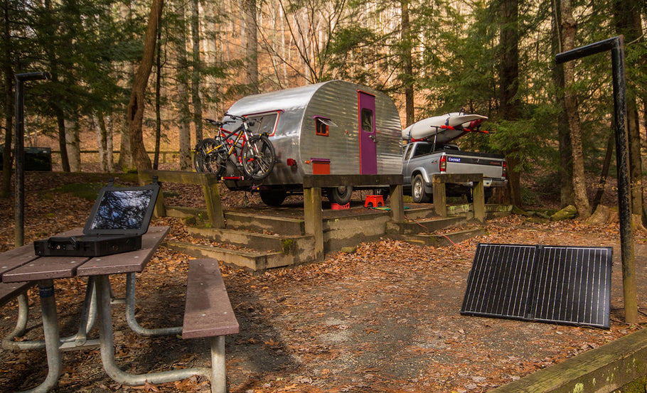 The Simple Guide to Solar Power for Camper Trailers