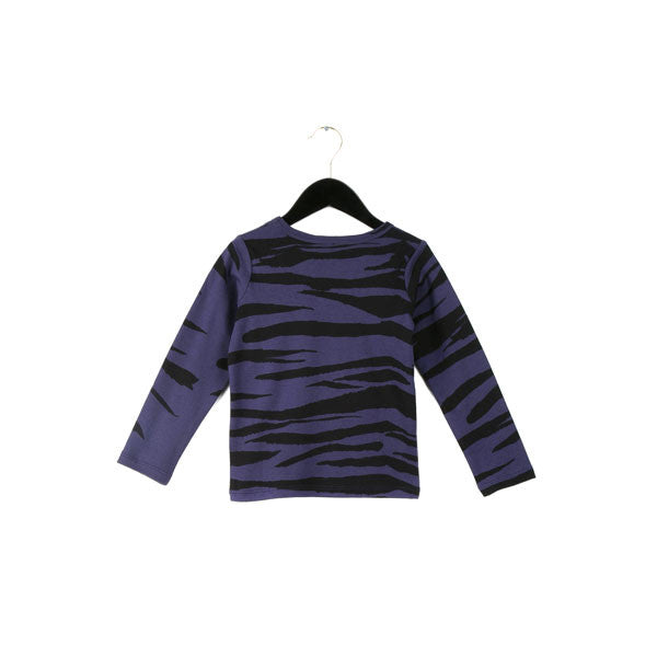 Mini Rodini Organic Long Sleeve Tiger Stripe Tee