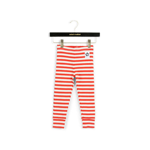 MIni Rodini Organic Stripe Rib Leggings