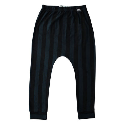 Marloe Jr Blue and Black Baggy Pants