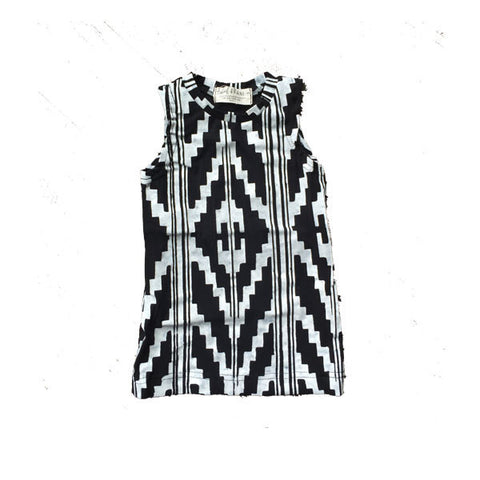 Thief & Bandit Organic Black & White Southwest Dress