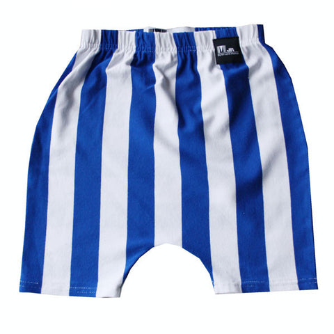 Marloe Jr Striped Baggy Shorts