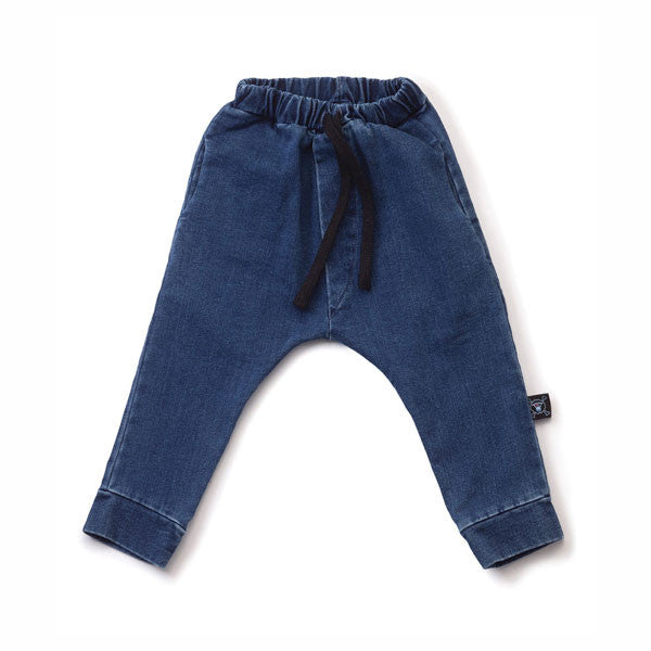 Denim Riding Pants