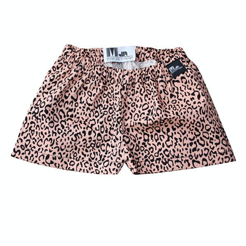 Marloe Jr. Leopard Shorts