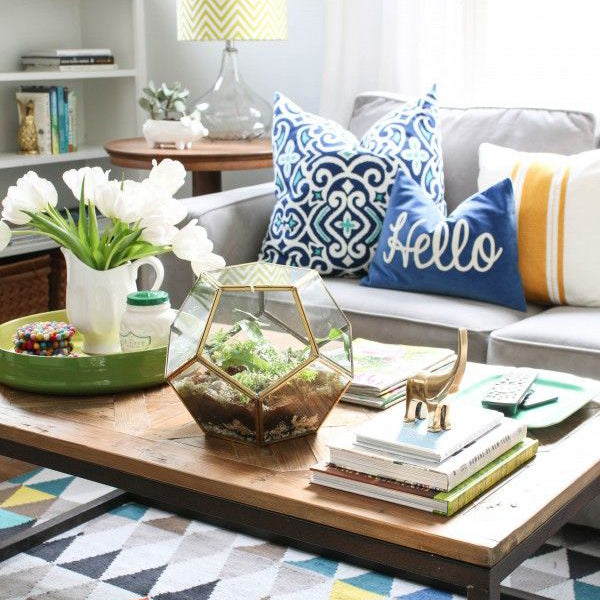 Clear Your Coffee Table Clutter