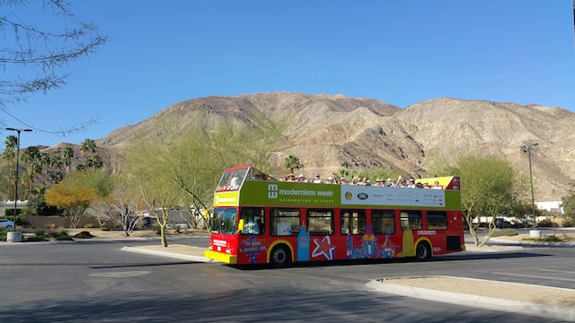 Modernism Week Double Decker Bus Tour