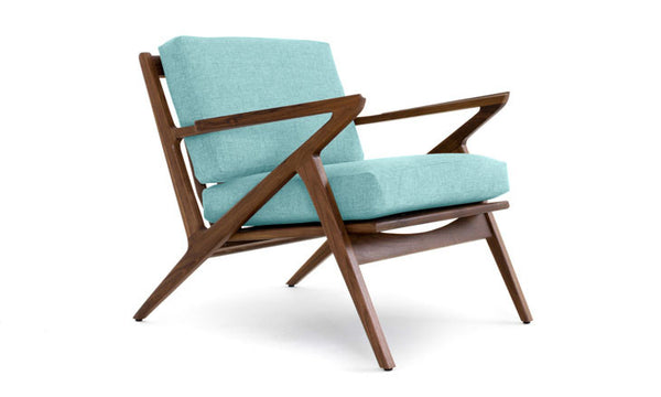 Soto Concave Lounge Chair by Joybird