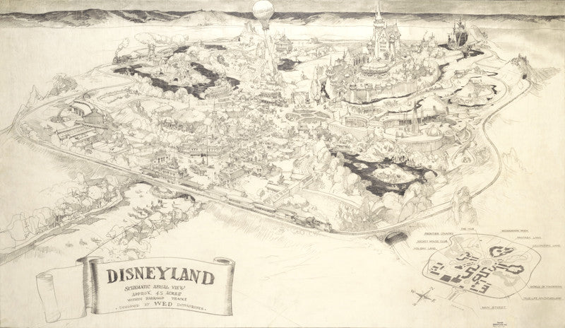 Disneyland Schematic