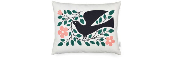 Graphic Print Pillow