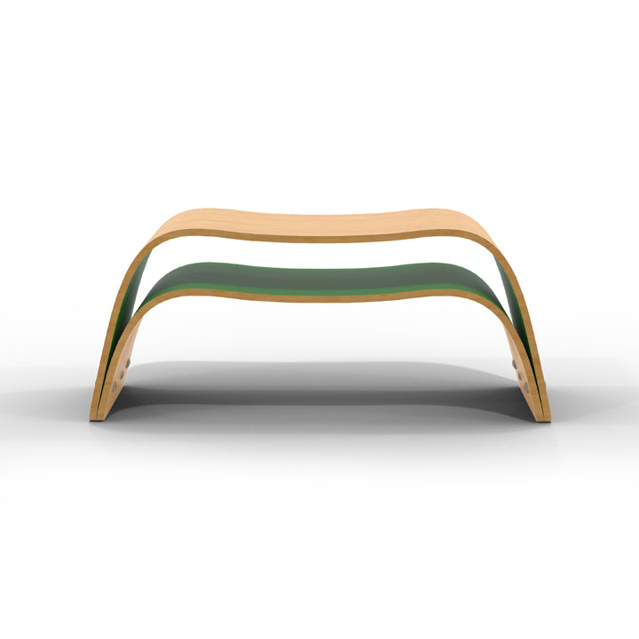 bent bench plywood hand ciseal coffee table products ply custom crafted