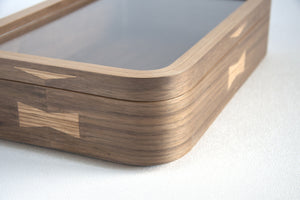 Ciseal Custom Bent Plywood Display Case