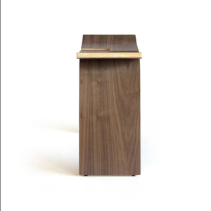 Ciseal Interlochen Stool Walnut