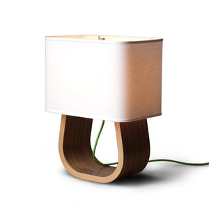 Ciseal Michigan Left Table Lamp Walnut