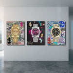 ''Rolex Gold'' Canvas