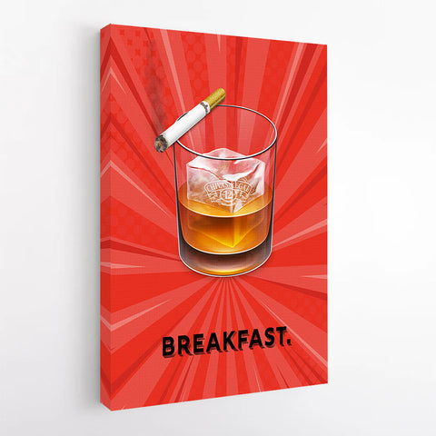 ''Breakfast'' Canvas